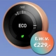 Maak kans op een Google Nest Learning Thermostat t.w.v. € 229,-